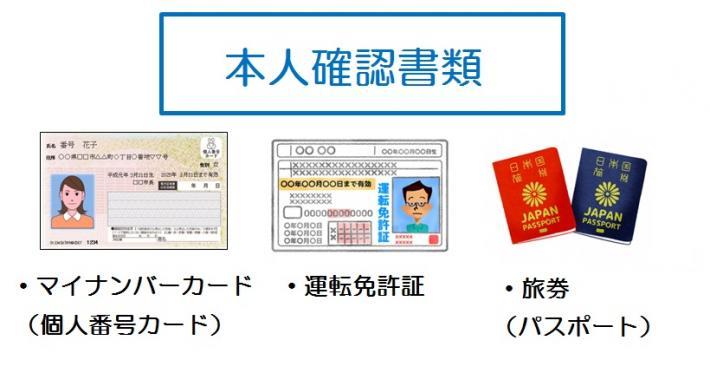 パスポート 本人 確認 書類